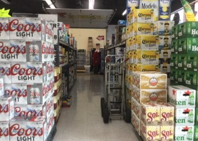 Aisle 4 - Before