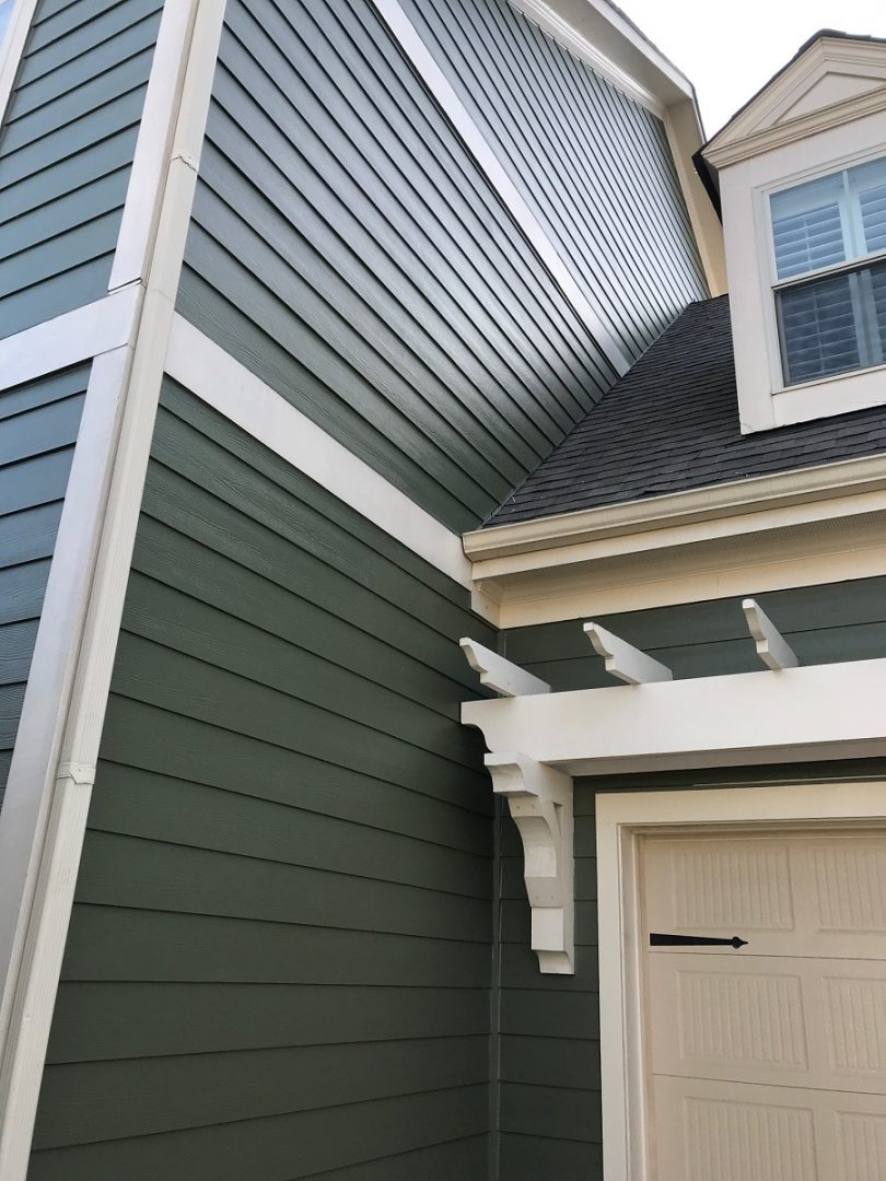 House with HardiePlank siding