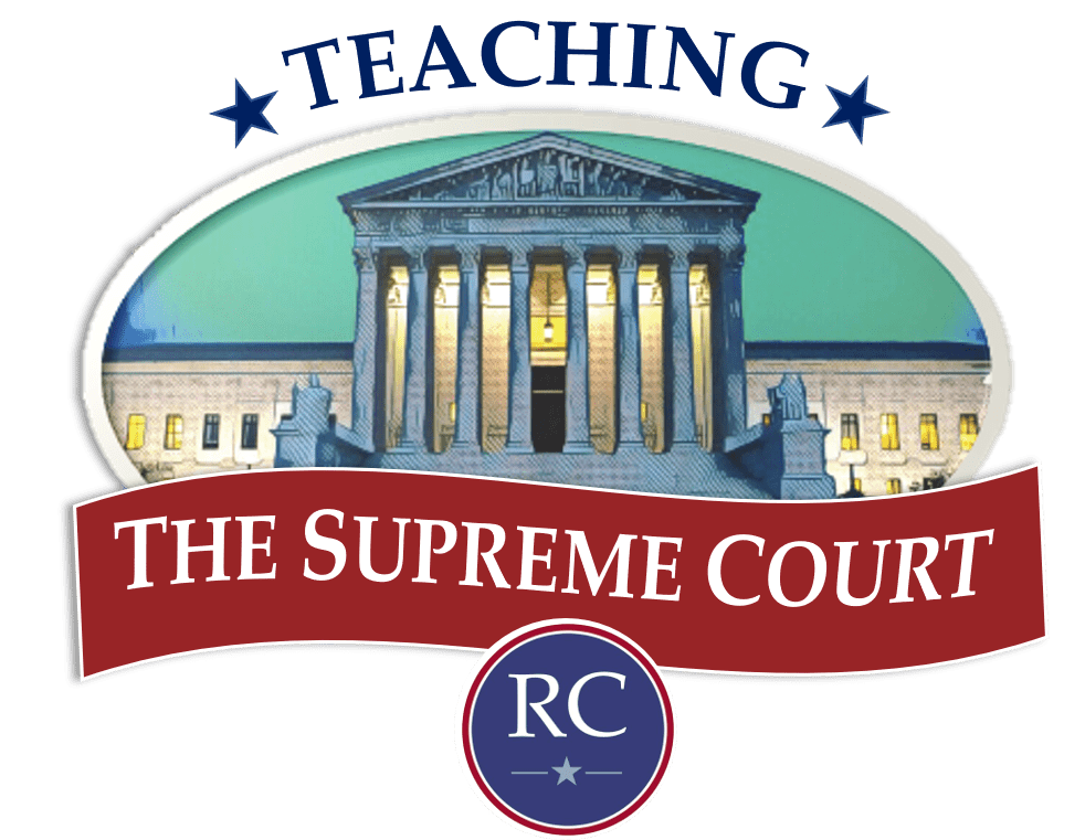 Supreme Court with Rendell Center logo below it.