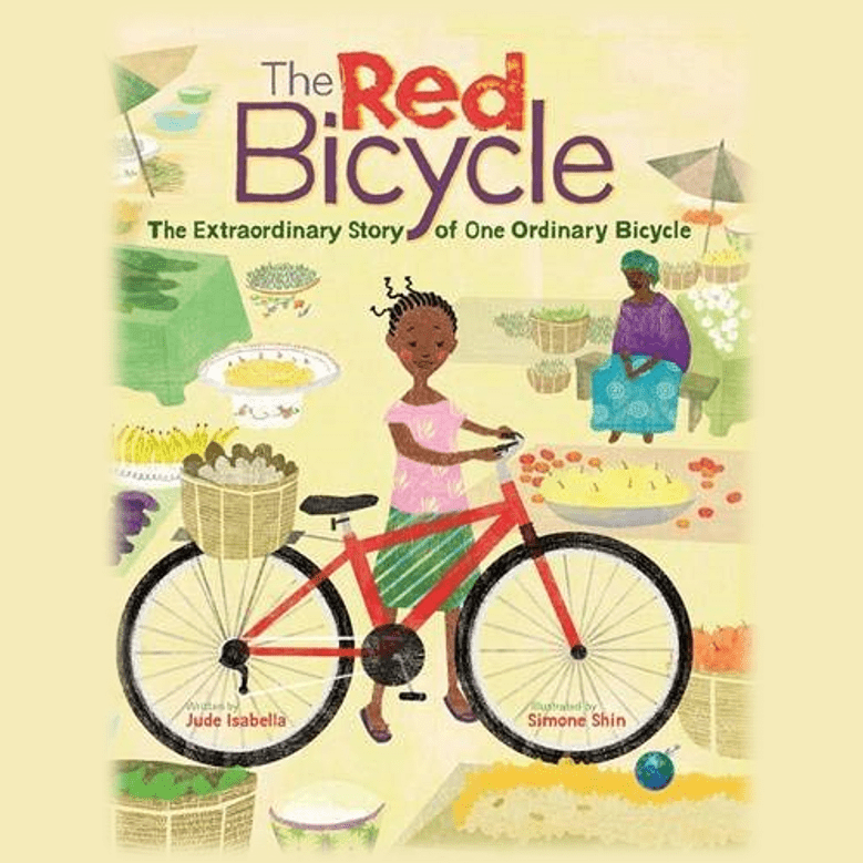 The Red Bicycle book cover art