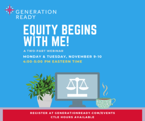 Equity Begins with Me Graphic