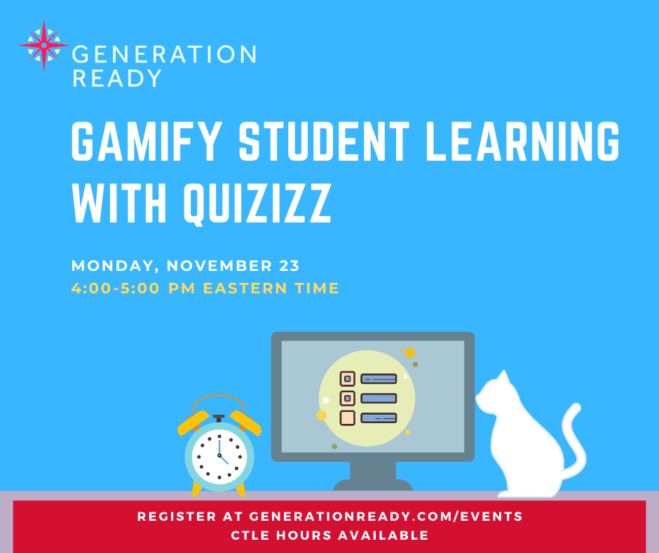 Gamify Student Learning with Quizizz graphic