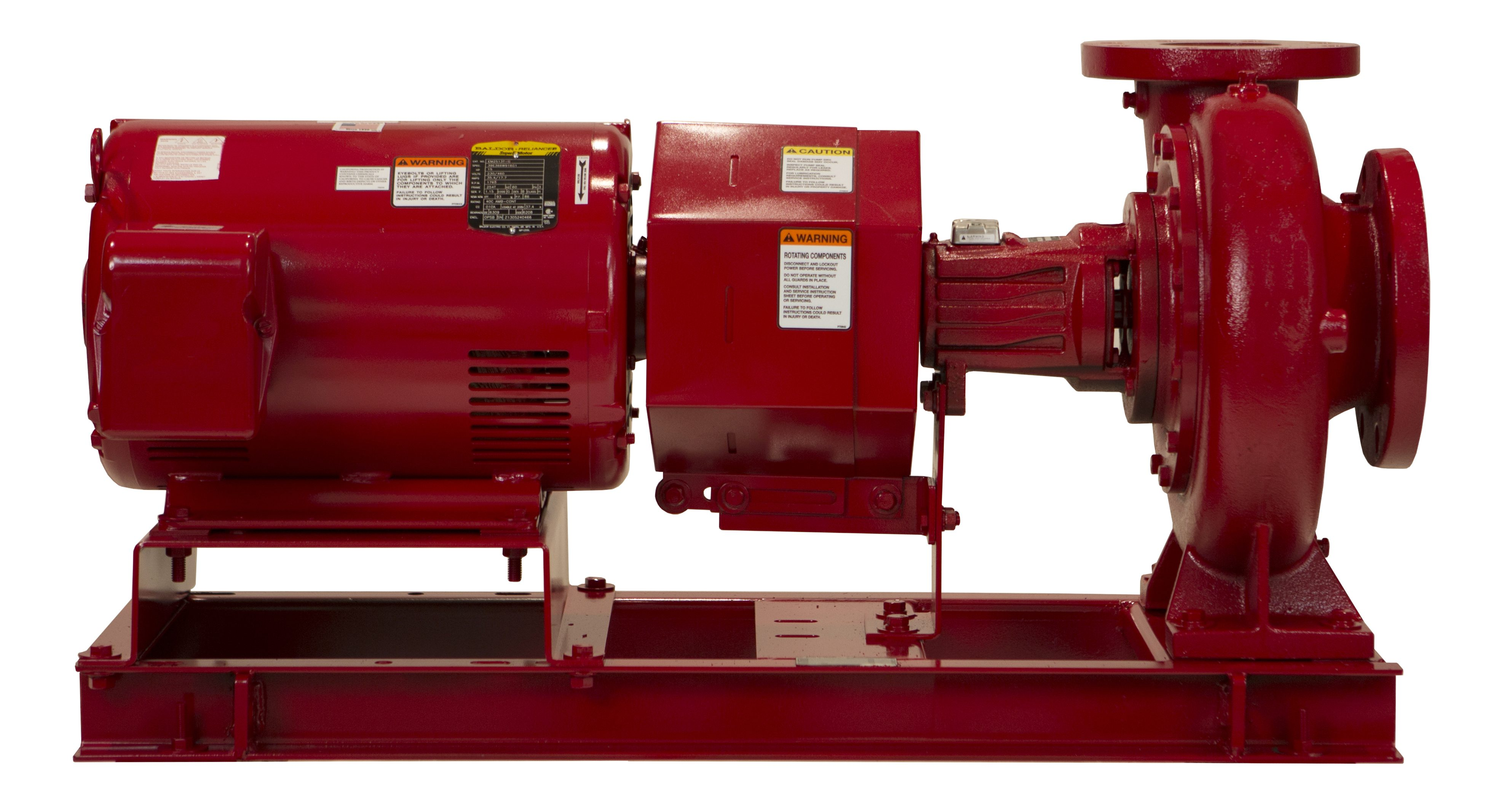 B&G Series e-1510 End Suction Base Mounted Pump with i-Alert