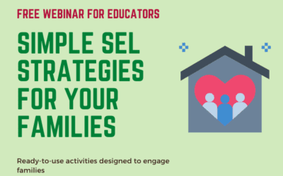 Simple SEL Strategies for Your Families